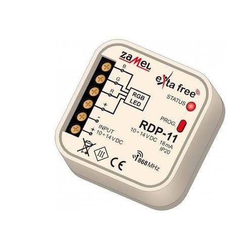 Sterownik radiowy led rgb exta free rdp-11 10-14v dc do puszki fi60 exf10000090 marki Zamel