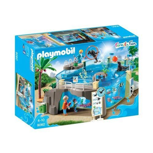 Playmobil FAMILY FUN Basen aquarium 9060