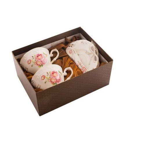 Fusaichi pegasus 2 filiżanki dzika róża porcelana