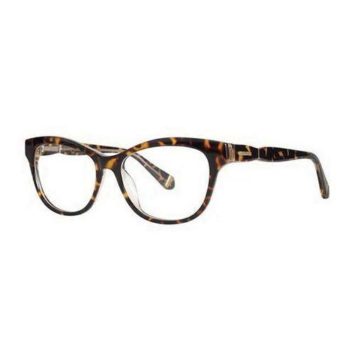 Zac posen Okulary korekcyjne estorah tan tortoise