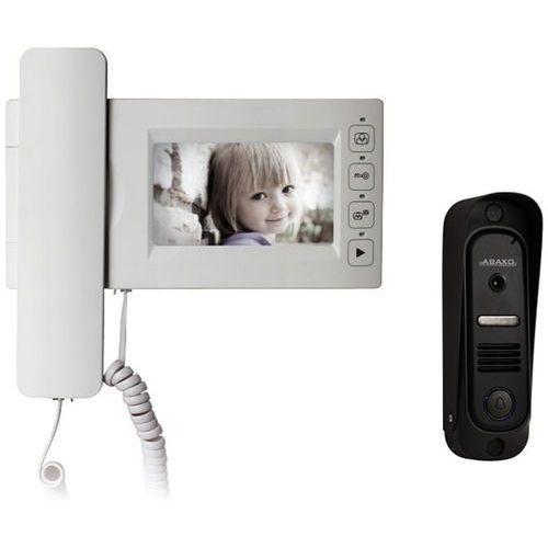 """Wideodomofon 4,3"""" głośnomówiący z pamięcią i kamerą Pin-hole Abaxo MC-430CM"""