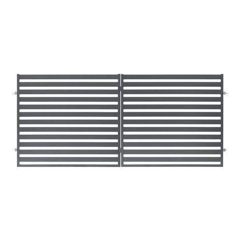 Brama dwuskrzydłowa lara 350 x 154 cm marki Polbram steel group