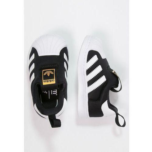 adidas Originals SUPERSTAR 360 Półbuty wsuwane core black