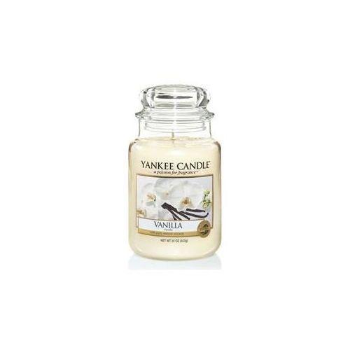 Yankee candle Świeca zapachowa duży słój vanilla 623g (5038580069914)