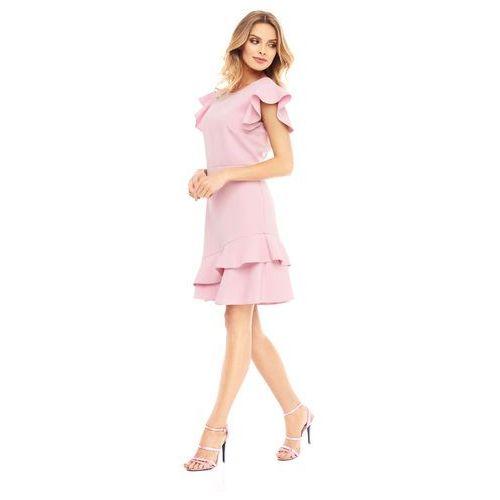 Sukienka laelia w kolorze różowym marki Sugarfree