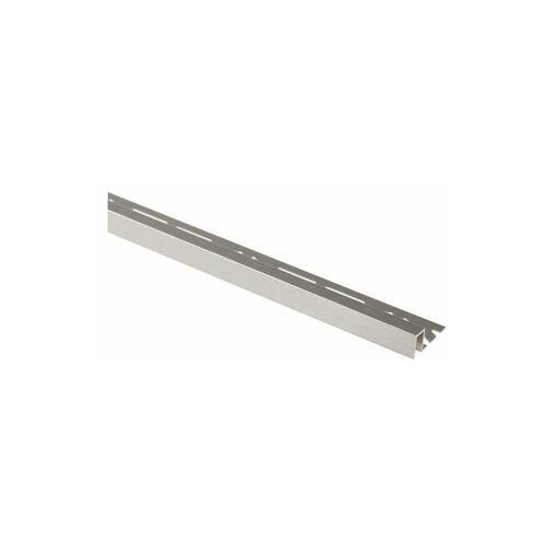 Cezar Profil wykończeniowy aluminium kwadrat 11 x 8 mm / 2.5 m lux platyna (5904584807084)