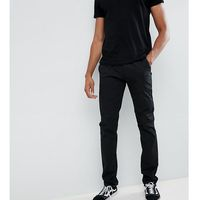 Farah elm slim fit chino in black - black