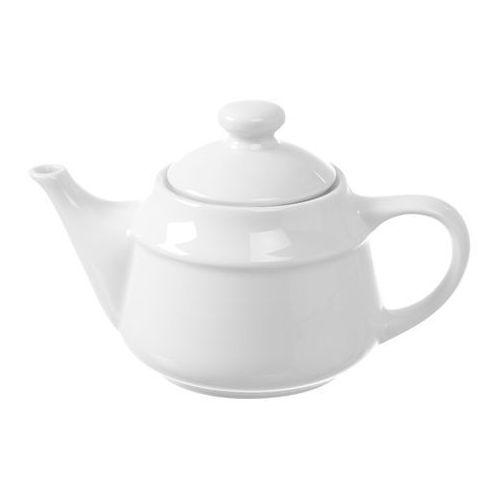 Fine dine Dzbanek do herbaty porcelanowy bianco