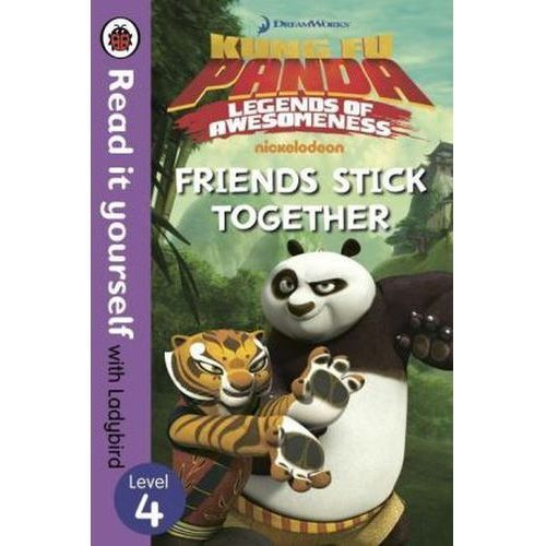 Kung Fu Panda: Friends Stick Together - Read it Yourself with Ladybird Level 4