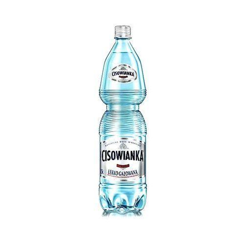 Woda lekko gazowana 1,5l x 6szt. marki Cisowianka