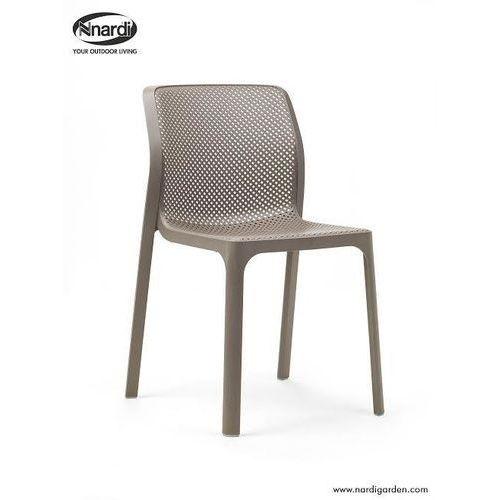 Krzesło Bit beżowe, kolor beżowy