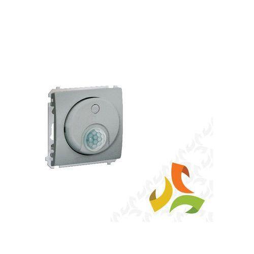 Wyłącznik z czujnikiem ruchu, aluminium metalik MCR10T.01/26 SIMON CLASSIC