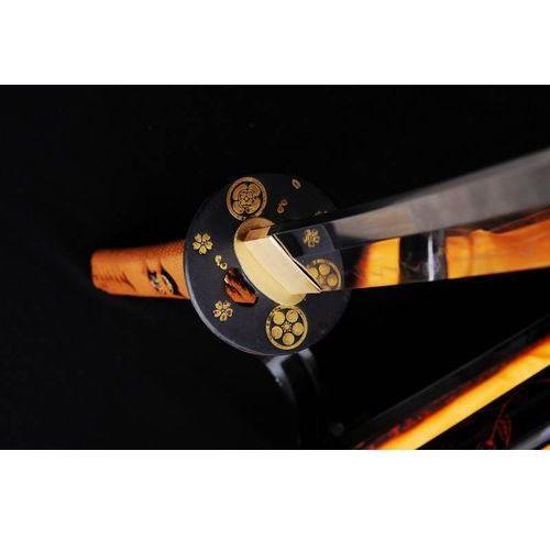 Miecz samurajski katana maru do treningu, stal wysokowęglowa 1095, hartowana glinką r761 marki Kuźnia mieczy samurajskich