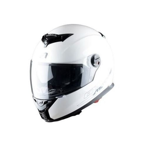 Astone kask gt800 solid exclusive white