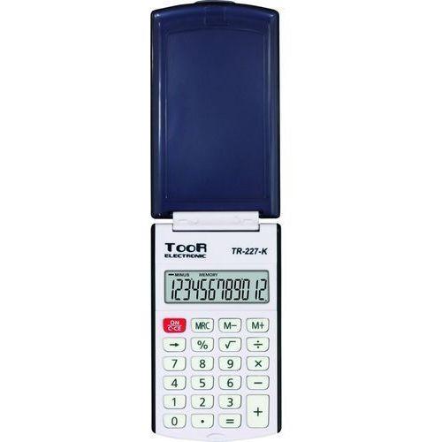 Kw trade Kalkulator kieszonkowy toor tr-227 12-pozycyjny (5903364217594)