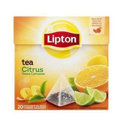 20szt citrus herbata ekspresowa piramidki marki Lipton