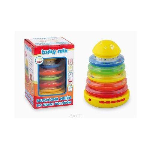 Wieża muzyczna do nauki kolorów marki Alexis baby mix