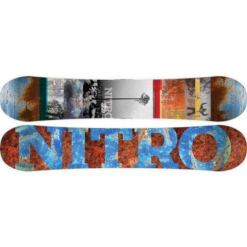 POTESTOWA DESKA NITRO PRO ONE-OFF ELHARDT 156 -70% z kategorii Deski snowboardowe