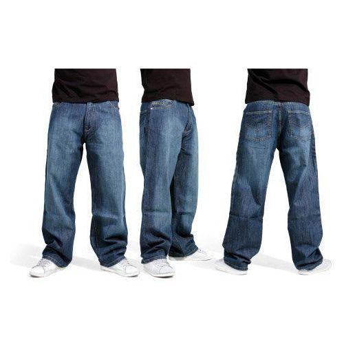 Spodnie - baggy md blue (md blue) marki Reell