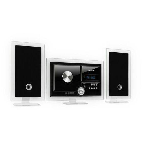 Auna Stereo Sonic, DAB+ stereo system, DAB+, CD odtwarzacz, USB, BT, czarny