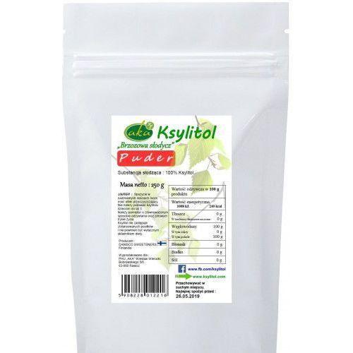 Aka Ksylitol cukier brzozowy w formie pudru - naturalna słodycz dla zdrowia (250 g)