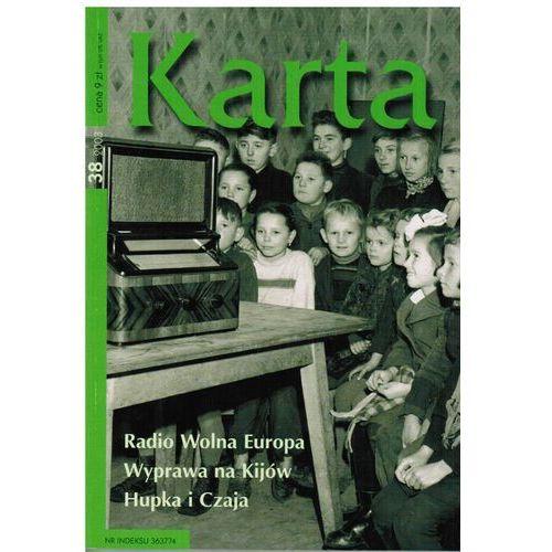 KARTA 38. RADIO WOLNA EUROPA. WYPRAWA NA KIJÓW. HUPKA I CZAJA (ISBN 9770867376037)