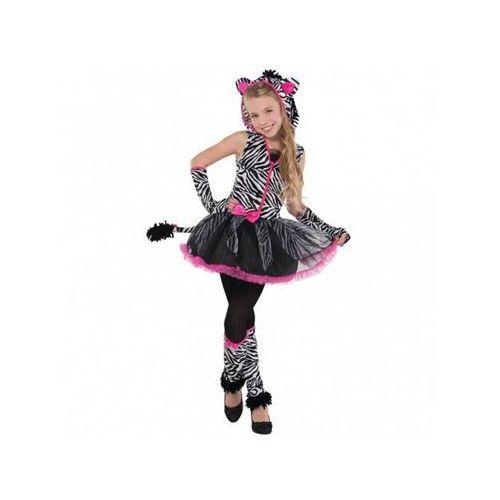 Amscan Kostium elegancka zebra dla nastolatki - 12/14 lat (162)