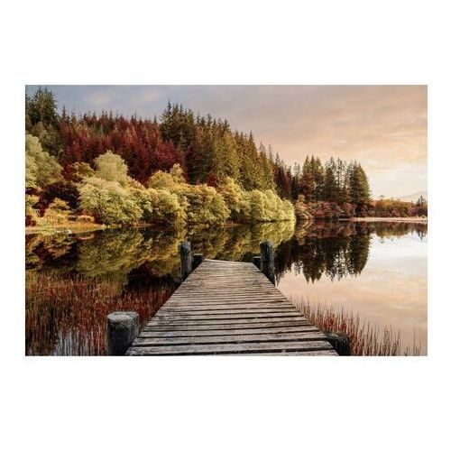Obraz Glasspik Autumn Path 80 x 120 cm (5902841517998)