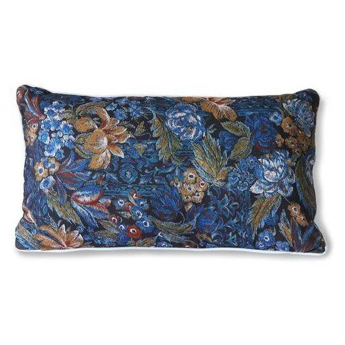 Hkliving poduszka z nadrukiem niebieska (35x60) tku2124