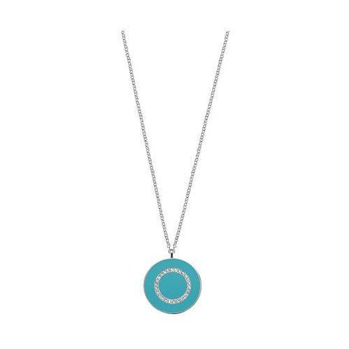 srebrny naszyjnik z turkusową zawieszką perfetta salx19 srebro 925/1000 marki Morellato