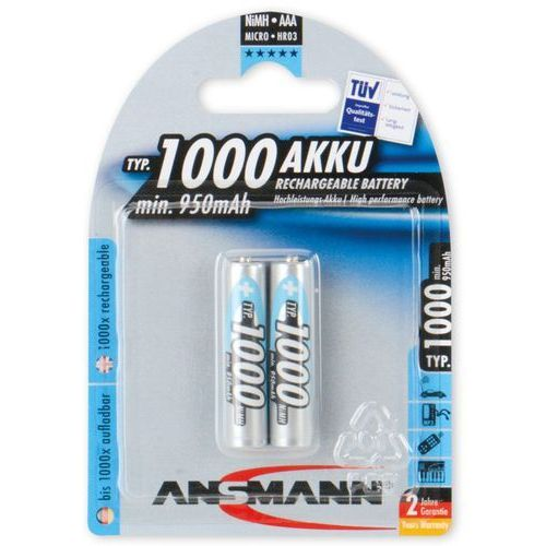Ansmann akumulator nimh 2xaaa 1000mah