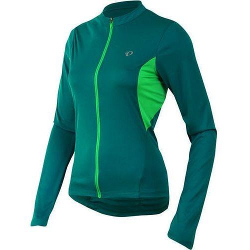 Pearl izumi select - damska koszulka rowerowa długi rękaw (zielony)