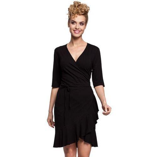 M294 Sukienka czarna