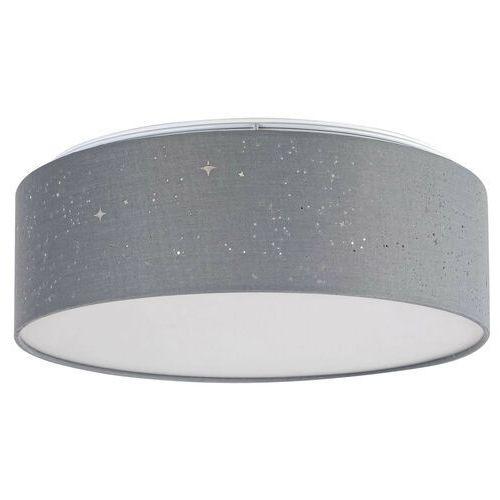 Rabalux Lampa sufitowa otilia 3307 okrągła oprawa abażurowa led 22w 3000k plafon szary (5998250333076)