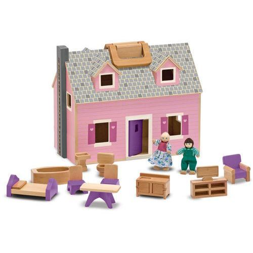 Melissa & doug Domek dla lalek walizeczka (0000772137010)