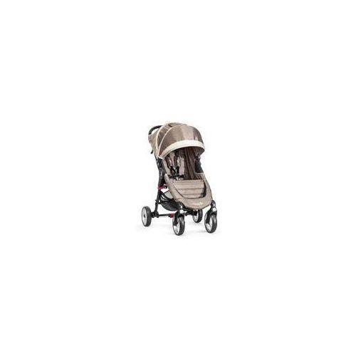 Baby jogger W�zek spacerowy city mini single 4w + gratis (sand/stone)