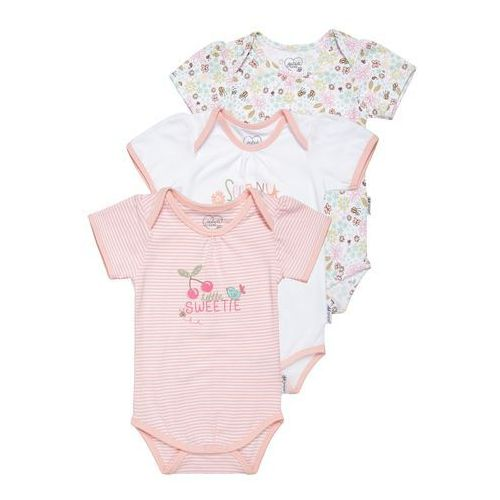 Gelati Kidswear MY LITTLE GARDEN 3 PACK Body multicolor, towar z kategorii: Body niemowlęce
