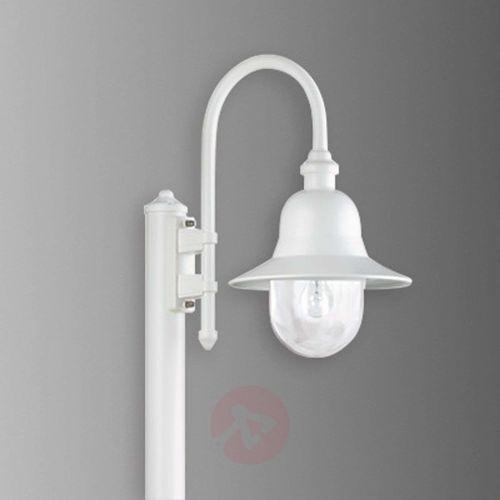 lengerich lampy stojące biały, 1-punktowy - klasyczny/rustykalny - obszar zewnętrzny - lengerich - czas dostawy: od 4-8 dni roboczych marki Lcd