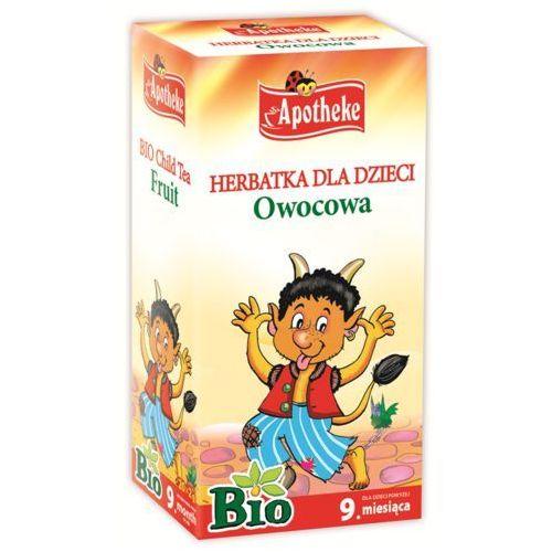 bio herbatka dla dzieci owocowa, 20 torebek marki Apotheke - OKAZJE