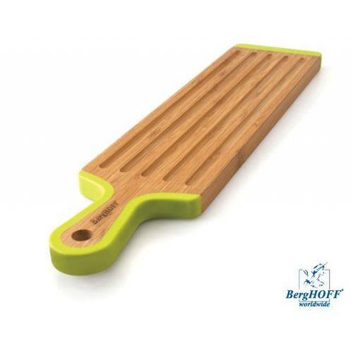 deska do krojenia bambusowa w kształcie łopatki 43x10x1,5cm marki Berghoff