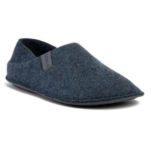 Crocs Kapcie - classic convertible slipper 205837 navy/charcoal
