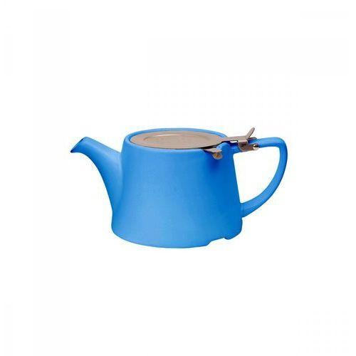 London pottery Dzbanek z filtrem i tacką do ociekania 750 ml niebieski