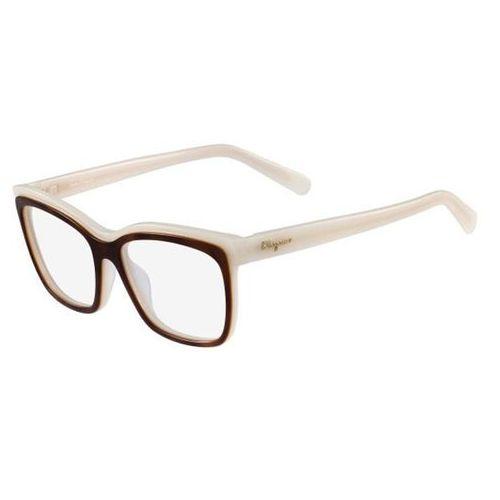 Salvatore ferragamo Okulary korekcyjne sf 2749 741