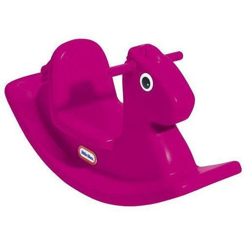 konik na biegunach, purpurowy marki Little tikes