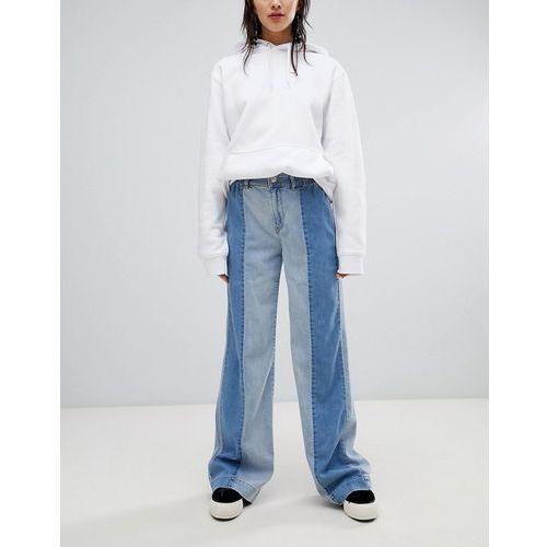 soft denim trousers - blue, Stradivarius