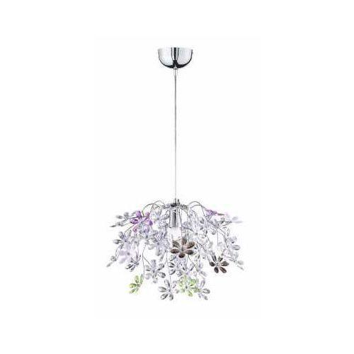 flower lampa wisząca chrom, 1-punktowy - dworek - obszar wewnętrzny - flower - czas dostawy: od 3-6 dni roboczych marki Reality