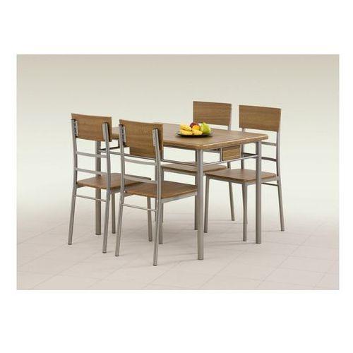 Halmar Zestaw  natan stół + 4 krzesła