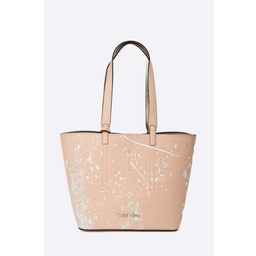 - torebka inside out med shopper splash marki Calvin klein