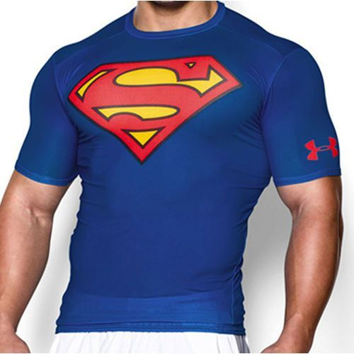 Under armour Koszulka alter ego superman compression t-shirt - 1244399-401