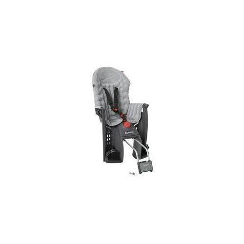 Hamax Fotelik rowerowy siesta premium szara